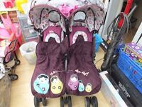 Cosato Double buggy great condition verry little use