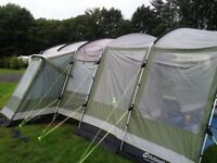 OUTWELL Montana 6 Tent with carpet groundsheet & canopy
