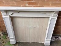 Wooden fireplace and surround *free*