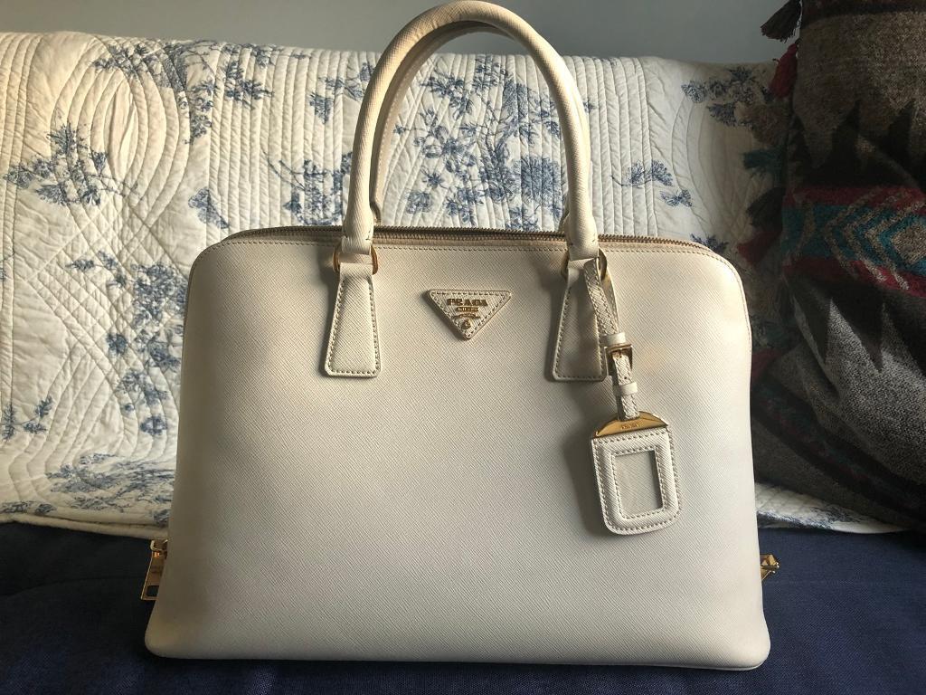 f3f82abbe2b1e7 Prada Bauletto Saffiano lux handbag | in Farnham, Surrey | Gumtree