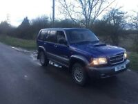 99 Isuzu trooper 3.0 TDI 4x4