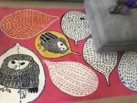 IKEA owl rug for sale