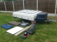 Trailer Tent For Sale: Raclet Solena 2008, as new condition.