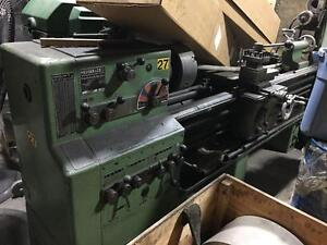 Meuser Engine lathe