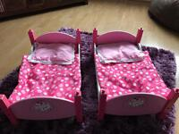 Cupcake doll bunk beds (toy)