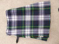 Dress gordon tartan kilt. Ideal for slim 12-14 year old.