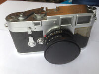 Leica M3 1954 camera with summicron f1:2 40mm lens