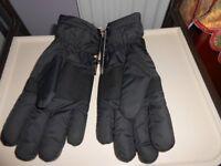 M&S Men's Black Gloves L with labels still attached.