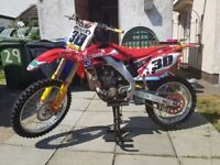2008 CRF250