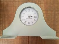 Blue Mantelpiece Clock Next EXCELLENT CONDITION £7