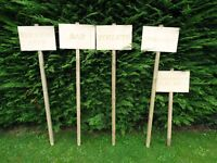 Wedding direction/signs for sale