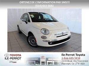 2012 Fiat 500C Lounge, CUIR, MAGS, BLUETOOTH