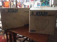 ATARI 1040ST console and monitor