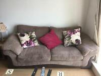 DFS 3 seater sofa, less than 2 years old, excellent condition
