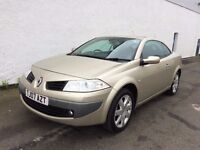 2007 Renault MEGANE 1.6 Convertible,68k miles,2keys,Great Bargains,test drive welcome