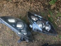 Vectra c facelift front headlights £60