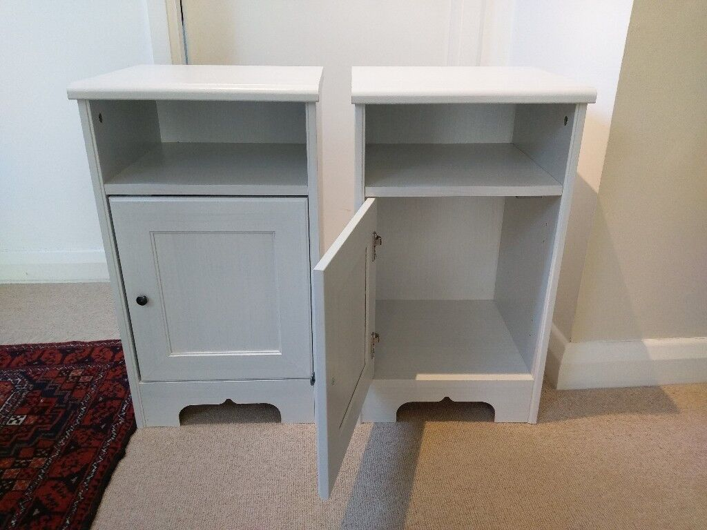 Two Ikea bedside tables in very good condition