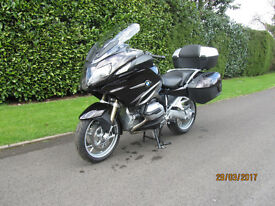 BMW 1200RT only 2102 miles, perfect condition