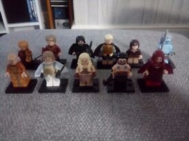 Game of thrones Minifigures X 11 (brand new!!) Lego compatible