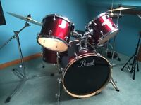 Drum Set - Pearl Export - REALLY EXCELLENT CONDITION