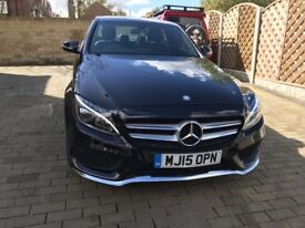 Mercedes c200 amg line cat s full Mercedes service history