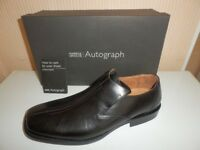 M&S Autograph Centre Seam Loaf Shoes - Size 10.5 An absolute steal at the price