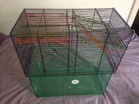 Free gerbil cage