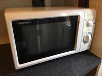 Sharp 800watt microwave