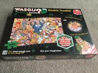 Jumbo Wasgij Double Trouble Number 11 Jigsaw Puzzle (1000-Piece) NEW & SEALED