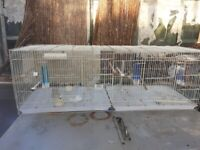 Bird Cages 4ft ideal for aviary inc feeders and perch