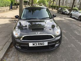 Grey Mini Cooper S - one owner from new, 60k miles