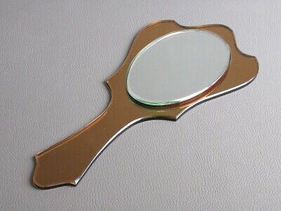 Vintage Mirror Design all Glass 29CM Period Years' 50/60
