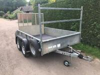 Ifor Williams 8x5 2.5 tonne trailer