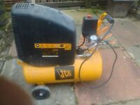 jcb 240v air compressor