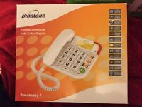 Big Button Corded Home Telephone - BRAND NEW