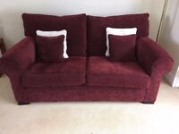 Two seater sofas - 2 for sale. Both excellent quality, immaculate condition