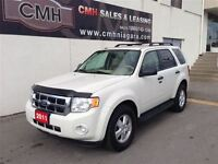 2011 Ford Escape XLT 4X4 LEATHER (CERTIFIED)