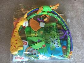 Fisher price play gym/mat