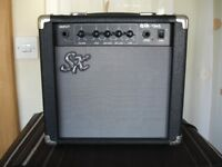 SX 15 watt Bass Guitar Amplifier