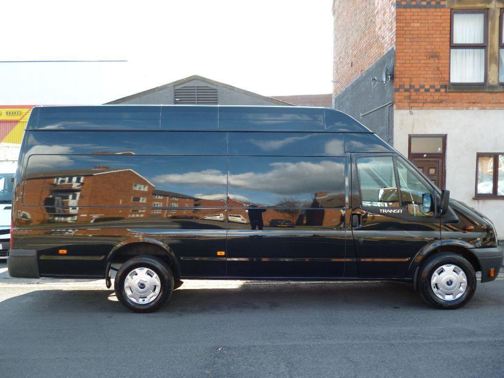 Ford transit jumbo 13 plate high roof van 350 lwb trend full service history 55