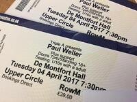 Paul Weller Leicester De Montfort Hall