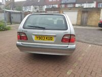 2001 Mercedes-Benz E Class 2.1 E220 CDI 7 Seater Classic 5dr Automatic @07445775115