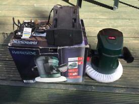 Parkside Cordless Car Waxing & Buffing Machine. Boxed.