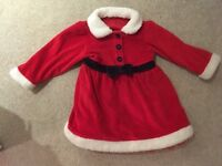 Girls Christmas dress 12-18 months