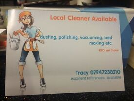 CLEANER AVAILABLE CAMBERLEY BAGSHOT FRIMLEY BLACKWATER