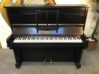 Metzler, London black upright piano CAN DELIVER THIS WEEKEND!