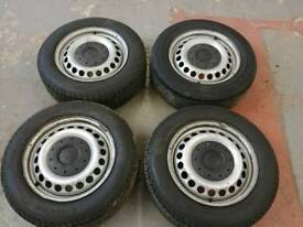 VW Transporter Wheels and Tyres x4