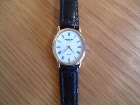 RAYMOND WEIL 5824 TRADITIONAL LADIES 18K GOLD PLATED WRISTWATCH