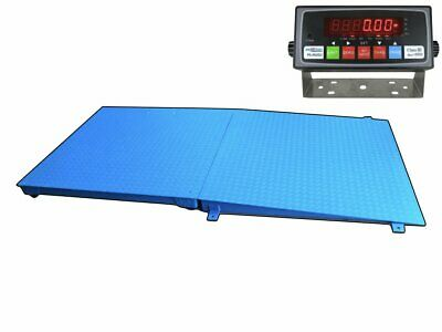 Selleton 48 X 48 Pallet Size Floor Scale With A Ramp Capacity 10000 Lbs X 1lb