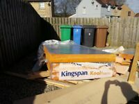 Kingspan Insulation Boards x 3 sheets 140mm thick